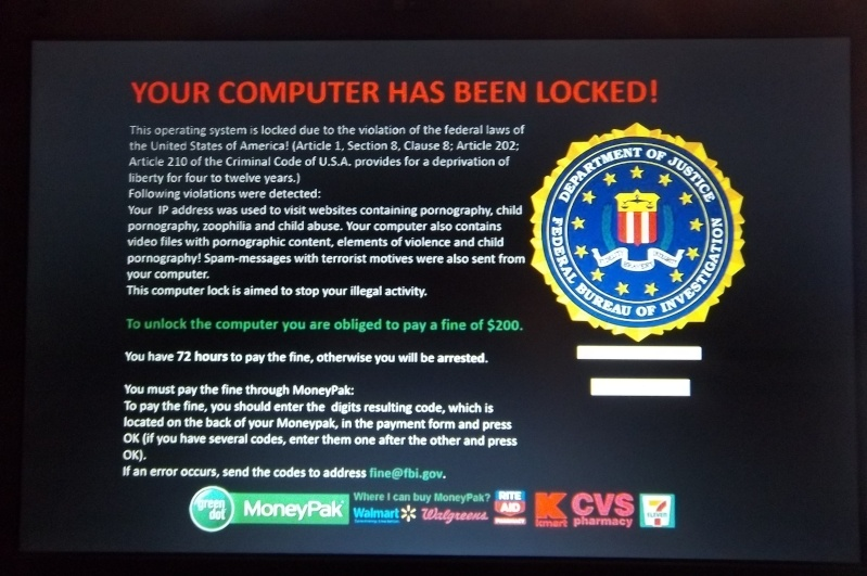 FBI Moneypak Virus Removal – ZookaWare Blog